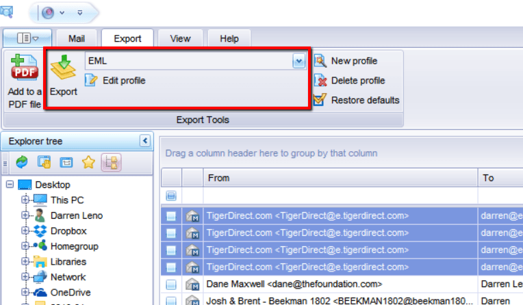 How to Convert Emails From Outlook .MSG to .EML