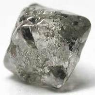 unpolished diamond
