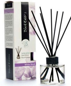 Patyczki zapachowe – White Musk – Białe piżmo – Mikado Black Edition