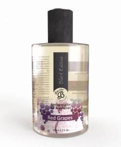 Perfumy do wnętrz – Red Grapes – Czerwone winogrona – Spray Black Edition