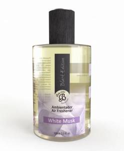 Perfumy do wnętrz – White Musk – Białe piżmo – Spray Black Edition