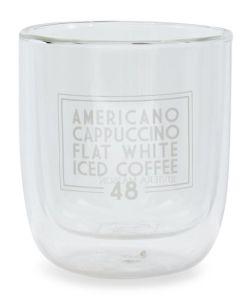 Szklanka z podwójnymi ściankami Love Coffee
