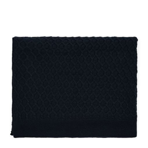 Koc RM Knitted Cable Throw