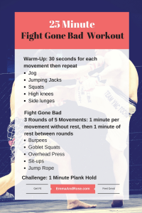 25 Minute Fight Gone Bad Workout