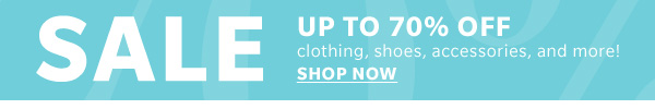 New Styles Added to Sale - Up to 70% Off at Shopbop!