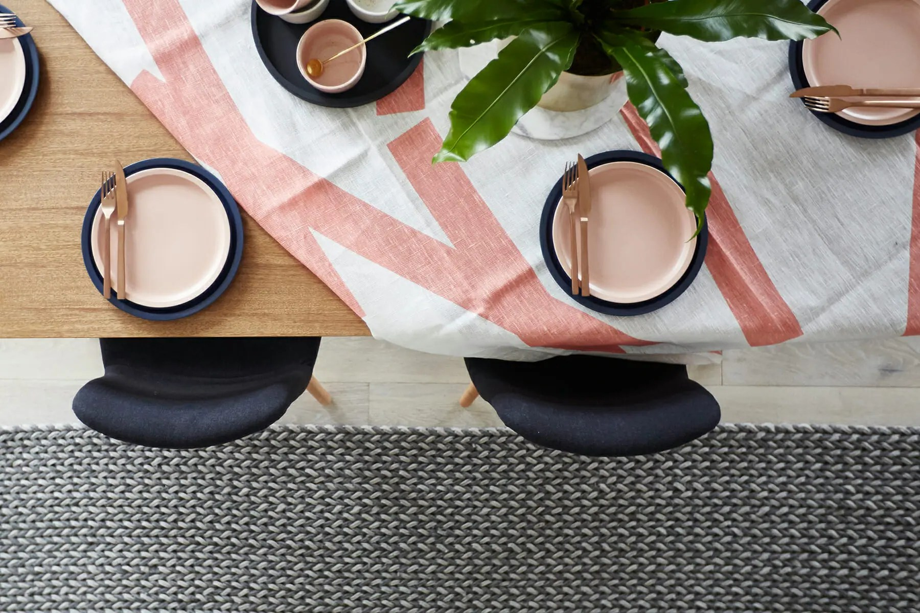 United Interiors Emma Blomfield Styling Dining Top