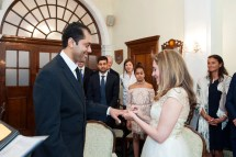 Intimate Chelsea Registry Office Wedding Register