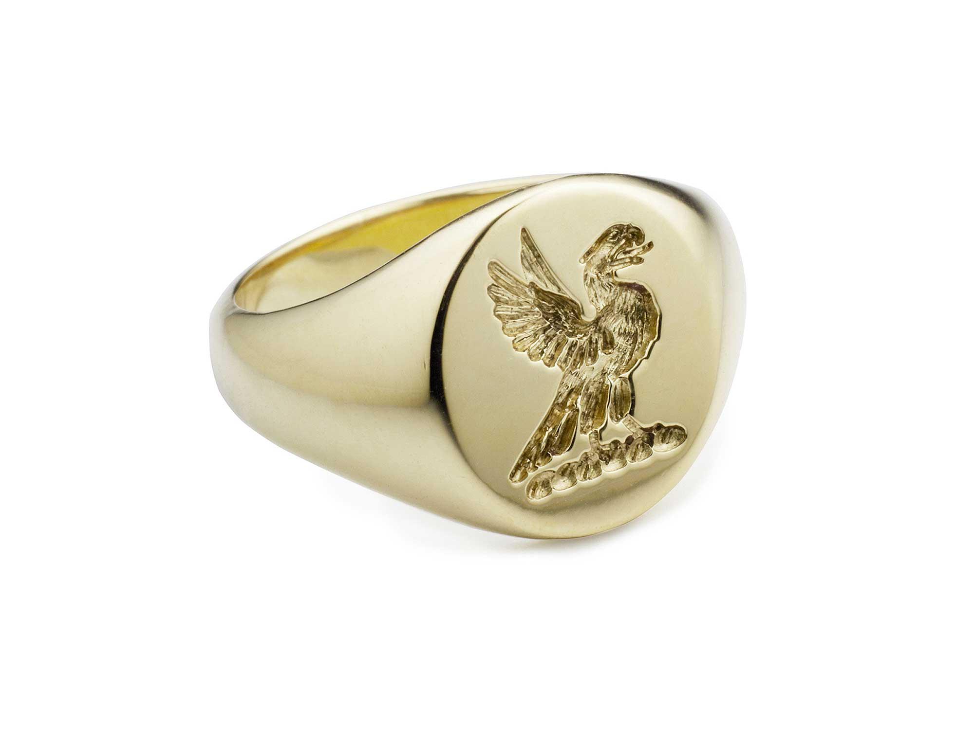 Family Crest Signet Ring Jack Emma Franklin London