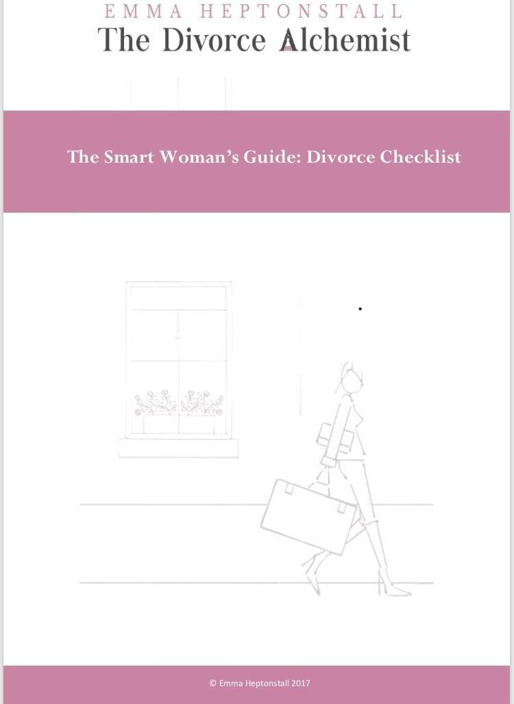 The smart woman's Divorce Checklist