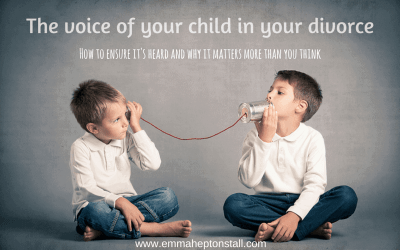 The Voice of your child in divorce