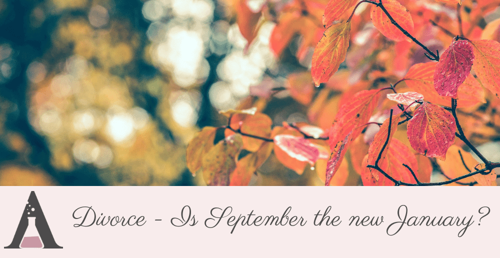Divorce: Is September the new January?