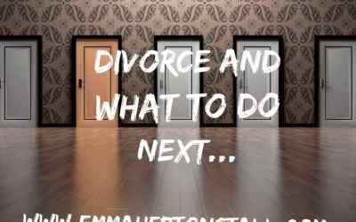 Divorce and what to do next