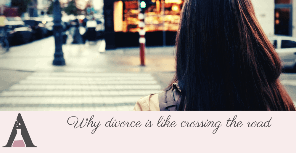 Why divorce is like crossing the road