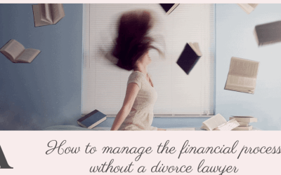 How to manage the financial process without a divorce lawyer