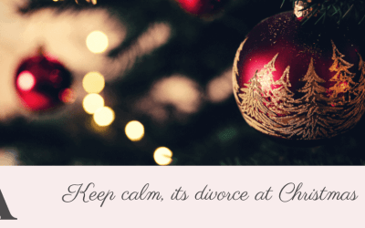 Keep calm, its divorce at Christmas
