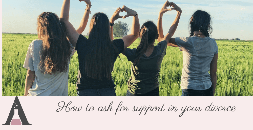 How to ask for support in your divorce