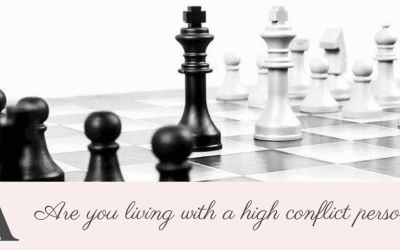 Are you living with a high conflict person?