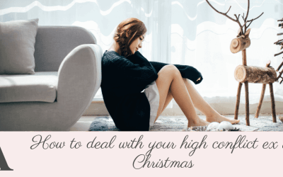 How to deal with your high conflict ex at Christmas