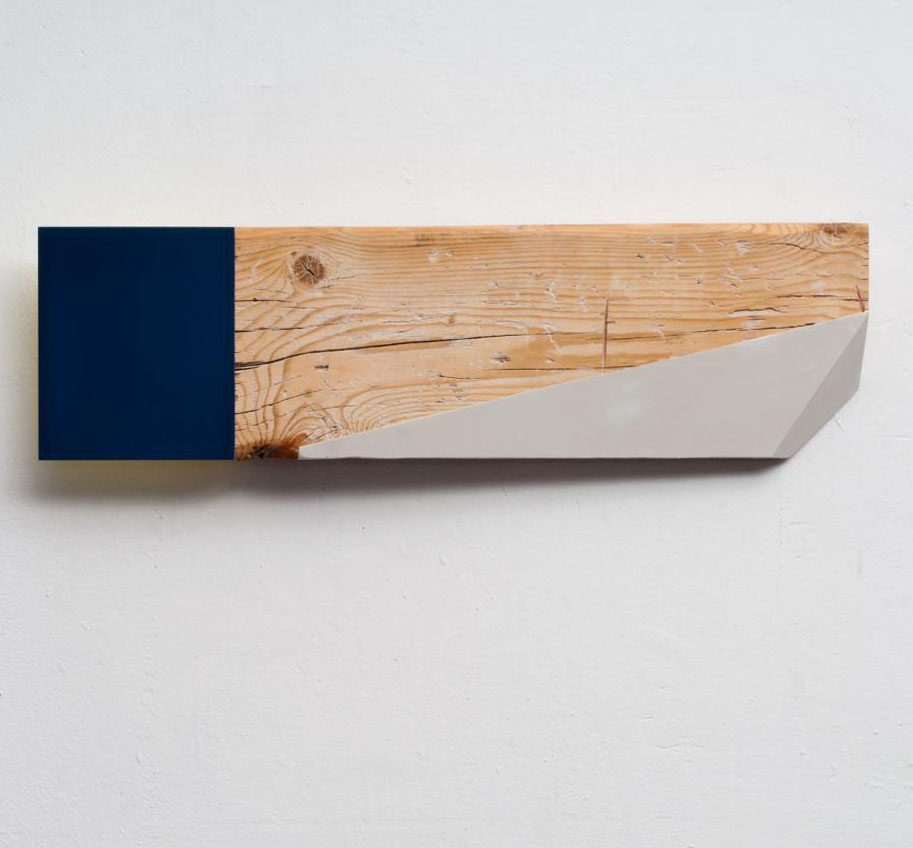 HERNAN ARDILA Untitled, 2013, mixed media 77 x 22 x 8cm