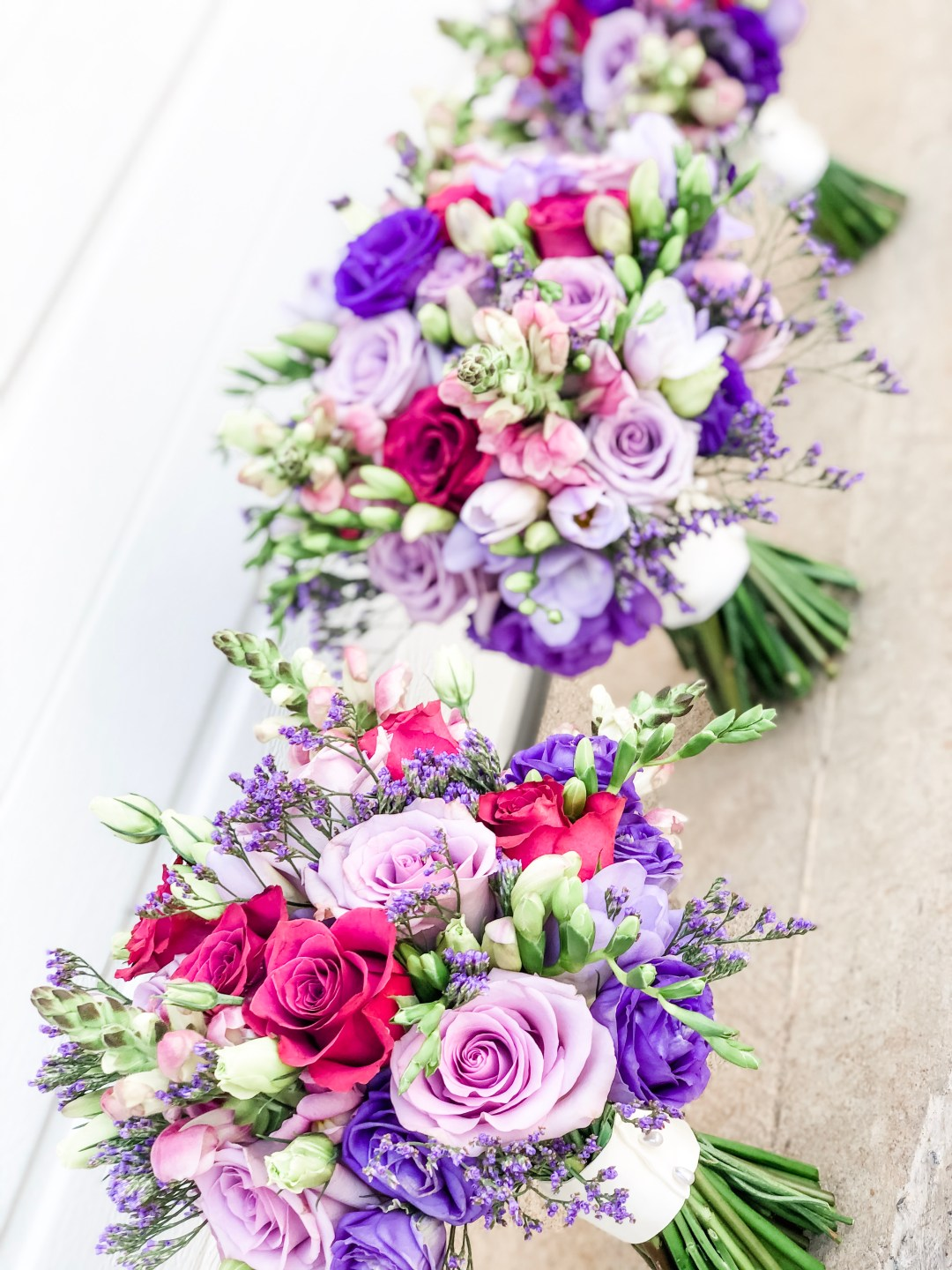 emma kate rose mixed bouquets