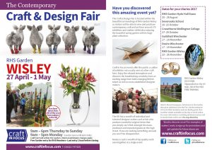 RHS Wisley Craft & Design Fair