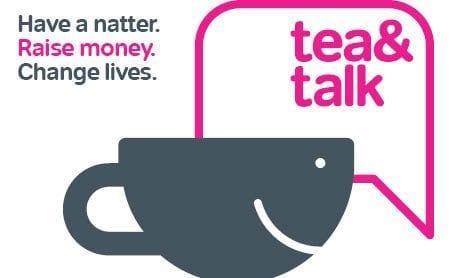 Tea and Talk fundraising in Market Deeping