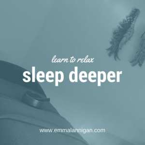 Tips to improve your sleep with Emma Lannigan - belifehappy