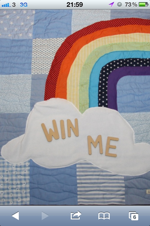 The Do It Momma Rainbow Quilt