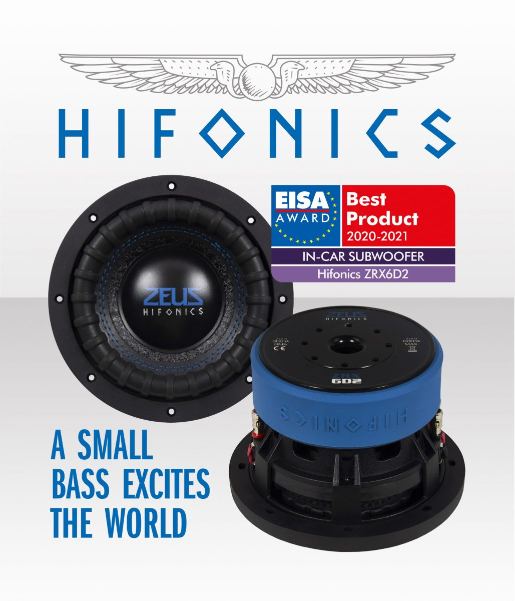 Best Car Subwoofer 2021 Playing with the Big Boys: Hifonics ZRX6D2 Subwoofer receives EISA