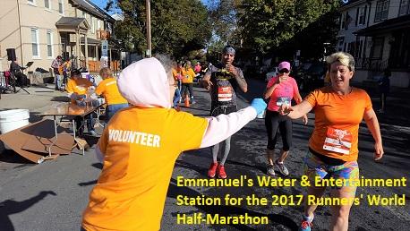 Runners World Water Station 2017