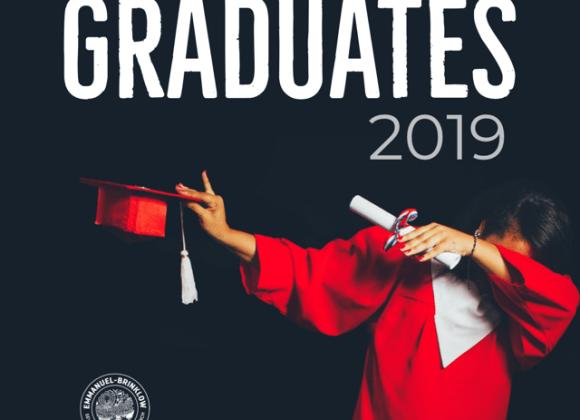 CALLING ALL 2019 GRADUATES
