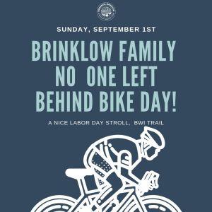 BRINKLOW FAMILY BIKING AT BWI