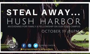 STEAL AWAY…HUSH HARBOR