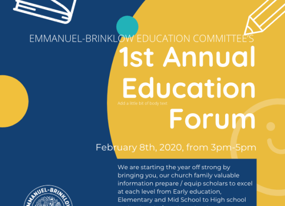 Reminder: EDUCATION COMMITTEE'S 1st ANNUAL EDUCATION FORUM