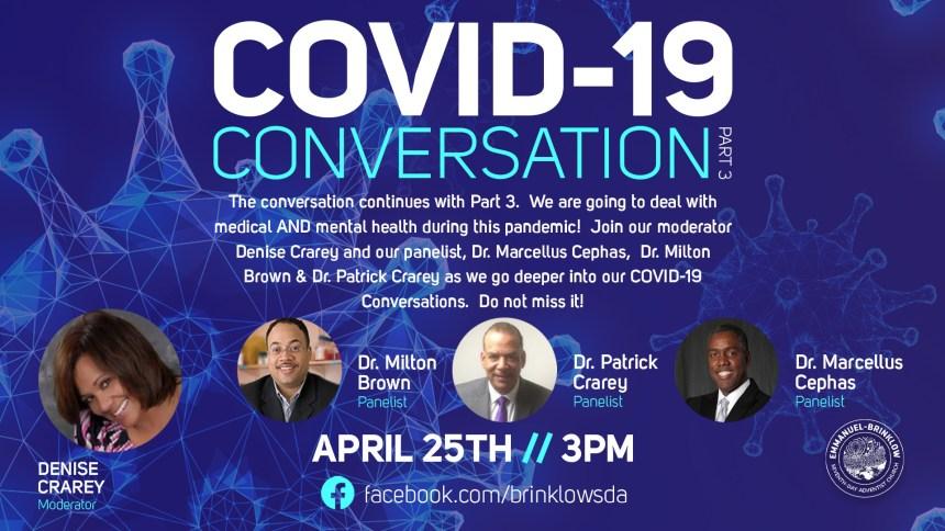 COVID CONVERSATION PART 3