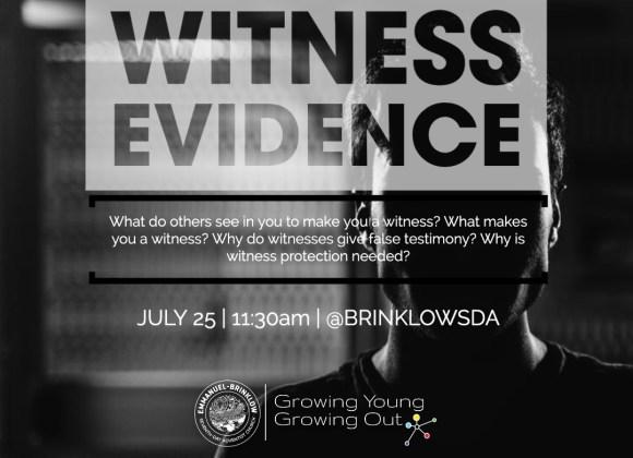 WITNESS EVIDENCE