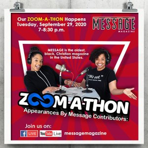 MESSAGE MAGAZINE ZOOM-A-THON