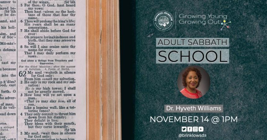 ADULT SABBATH SCHOOL Nov 14