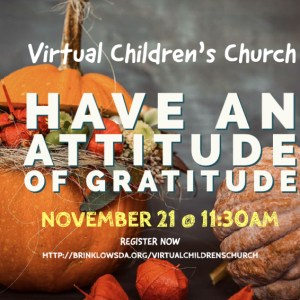 SIGN UP FOR CHILDREN'S CHURCH