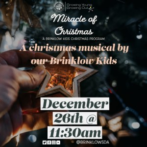 MIRACLE OF CHRISTMAS Dec 26
