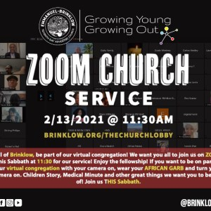 ZOOM WORSHIP SERVICE