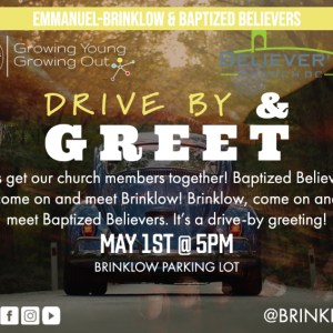 DRIVE-BY & GREET : EBC & BBC May 1