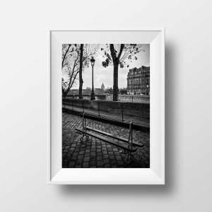 Photo Paris Ile Saint Louis et le Panthéon