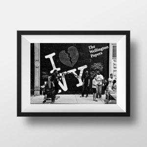 Photo Rue New-York Noir et Blanc