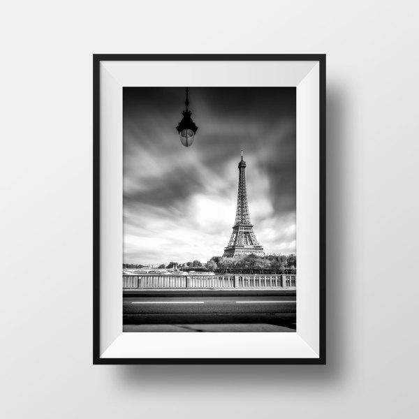 photo Tour Eiffel Paris – Le Pont de Bir Hakeim