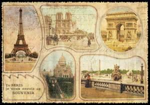 Cartes Postales Paris vintage - Multivues