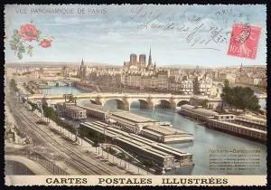 Cartes Postales Paris vintage - Vue Panoramique