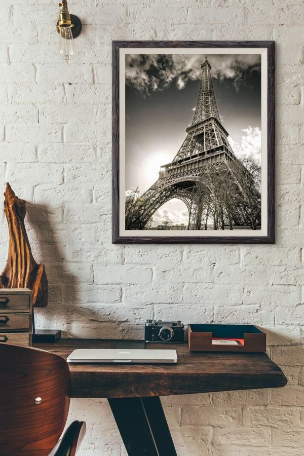 Photo Paris La Tour Eiffel Champs de Mars