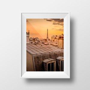 Tirage Photo Paris - Les Toits de Montmartre