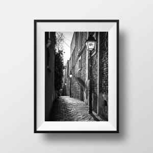 Tirage Photo de Paris Passage Plantin Belleville